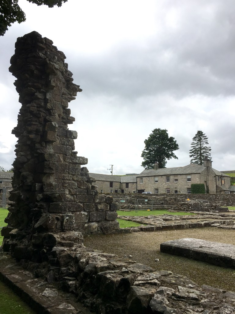 Ruins of Shap Abbey.