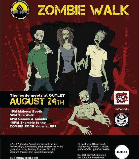 Thunder Bay Zombie Walk / Zombie Rawk