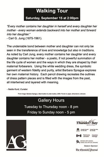 Thunder Bay Art Gallery Walking Tour
