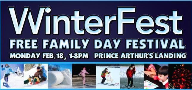 1st Annual WinterFest at Prince Arthur's Landing