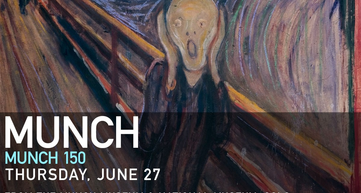 Munch 150: Great Art on Screen Returns to Thunder Bay on July 21