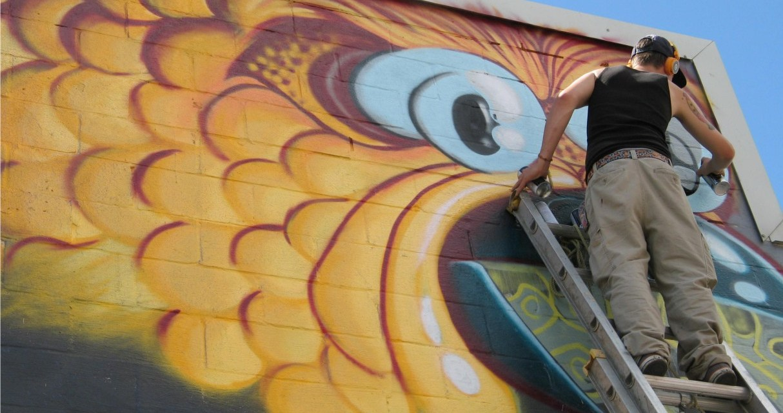 Die Active Graffiti Art – Innovative Downtown Revitalization