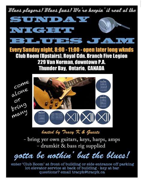 Sunday night Bluesjam (1)