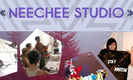 Neechee Studio: a fresh new program of free art workshops for aboriginal youth