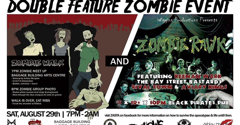 4th Annual Zombie Walk & Rawk