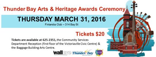 arts & heritage awards