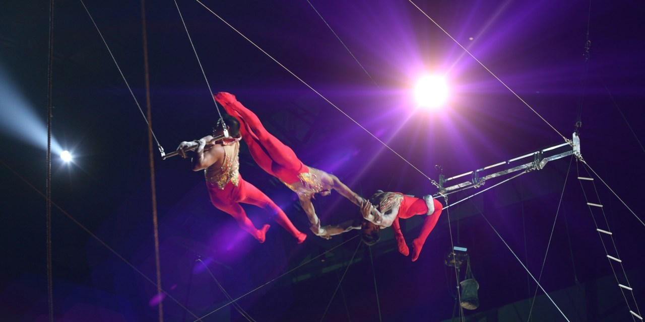 Under the Big Top—The Royal Canadian Circus