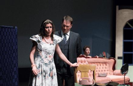 (L to R) Theresa Thibert as Countess Almaviva and Mark Ellis Gough as Count Almaviva