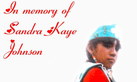 "The Story of Sandra Johnson on APTN's ""Taken"""
