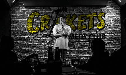 Crickets Comedy Club — It's About the Funny, Not the Money