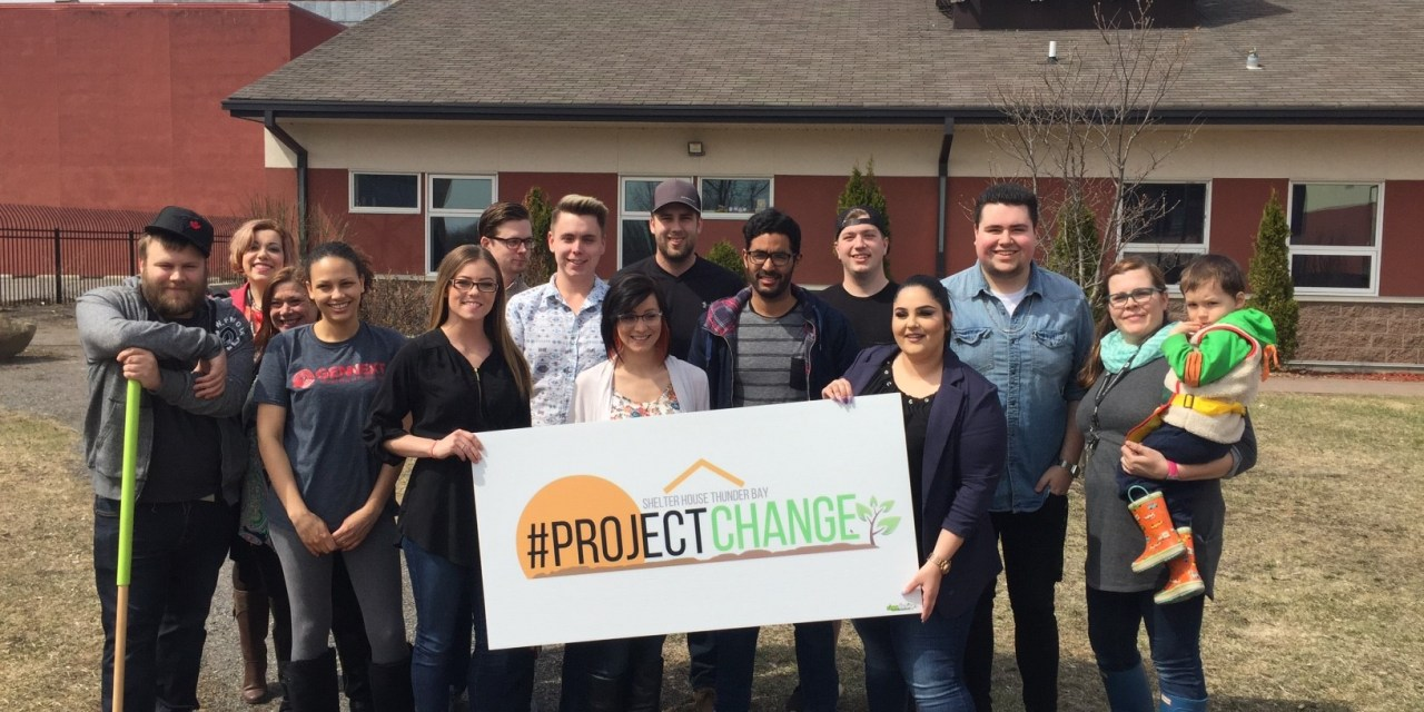 Shelter House Launches #ProjectChange