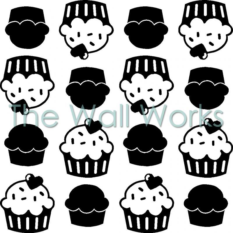 Kitchenaid Cupcakes Wall Sticker Vinyl Decal The Wall Works
