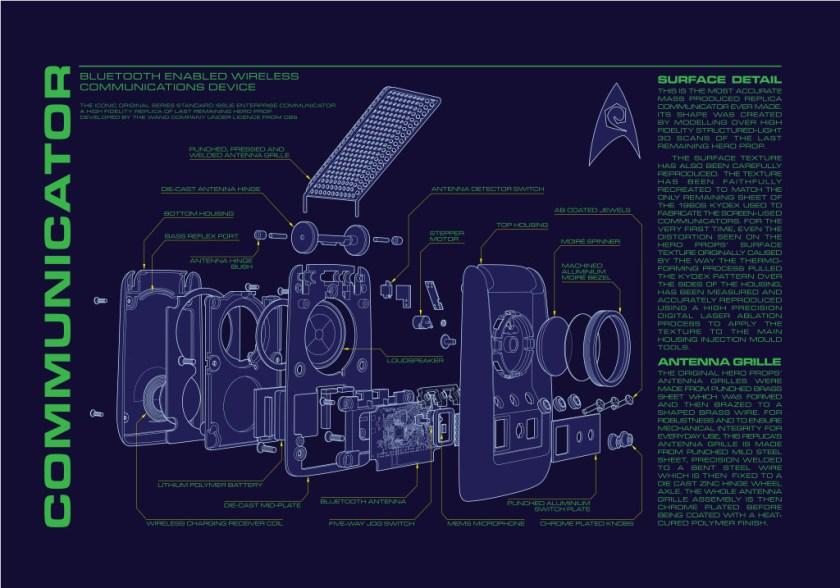 Star Trek Communicator   The Wand Company