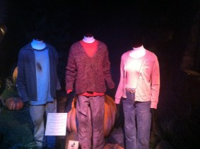 Harry, Ron, and Hermione's outfits from Harry Potter and the Prisoner of Azkaban