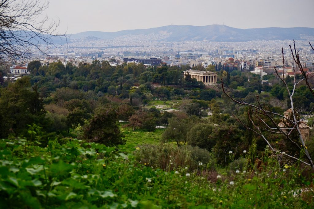 Overlooking Athens, Greece • What to Pack for Greece in the Spring | The Wanderful Me