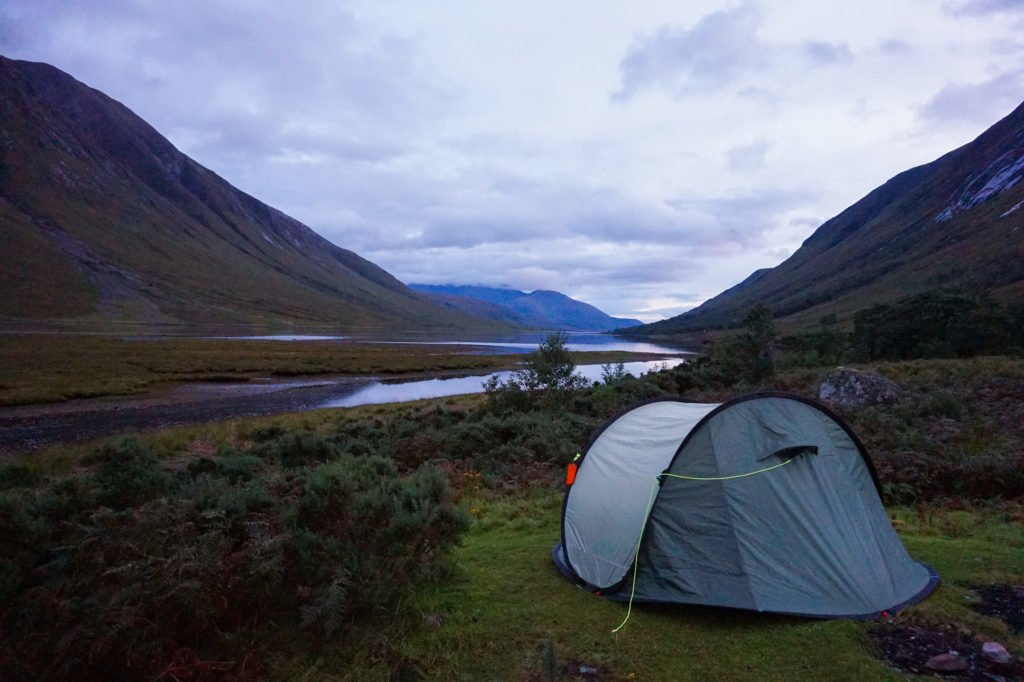 Campsite Surroundings • Discovering the Wild Side of Wild Camping in Scotland | The Wanderful Me