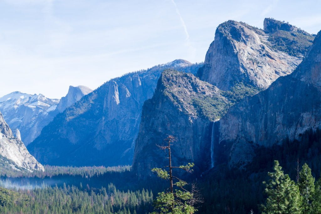 Yosemite Views • Useful Things to Know Before Visiting Yosemite and Sequoia in the Winter | The Wanderful Me