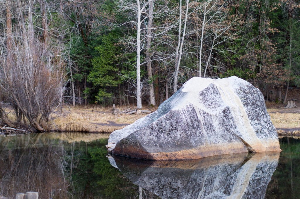 Mirror Lake, Yosemite NP • Useful Things to Know Before Visiting Yosemite and Sequoia in the Winter | The Wanderful Me