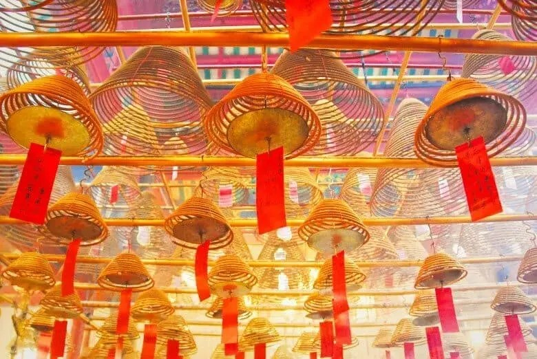 Hong Kon Man Mo Temple