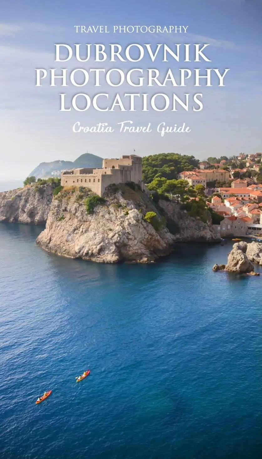 Dubrovnik Photography Locations by The Wandering Lens and Lisa Michele Burns