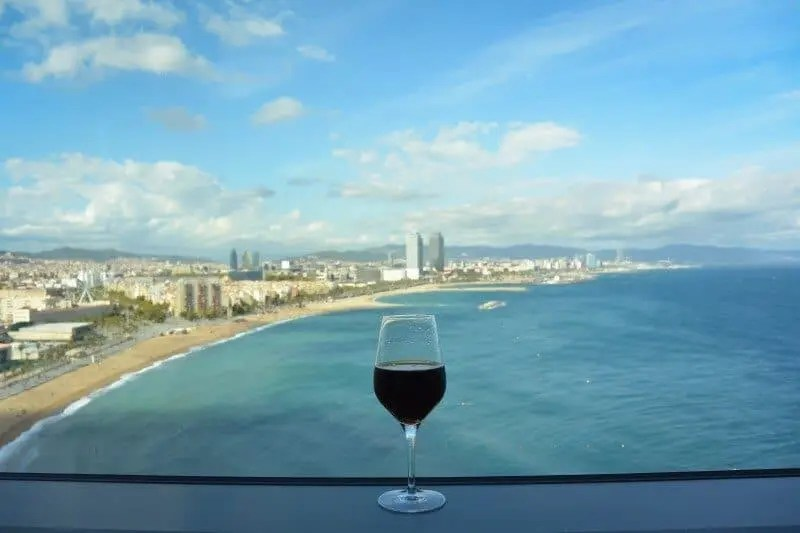 W Barcelone - Visual Hotel Review by The Wandering Lens www.thewanderinglens.com