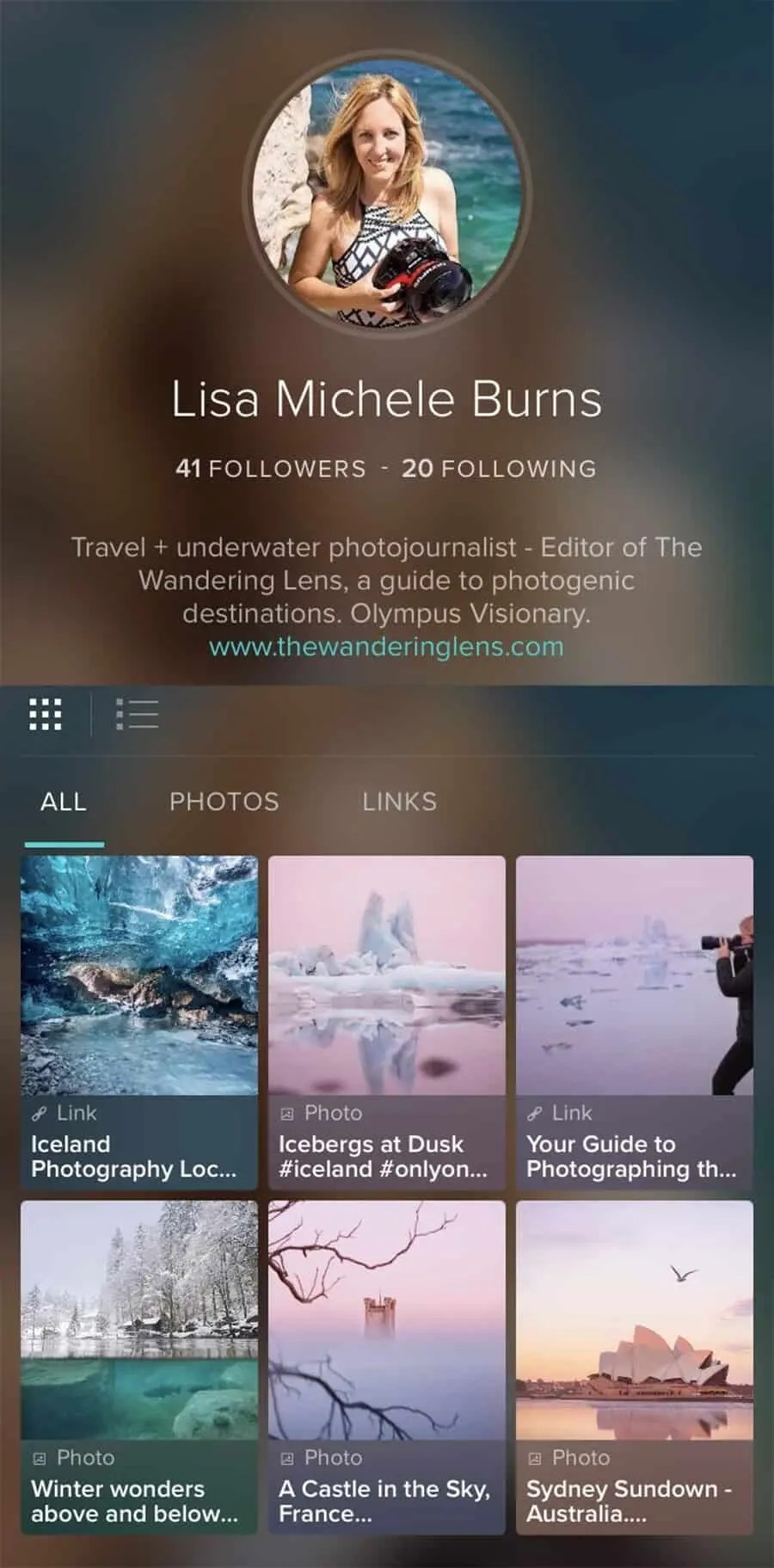 Social Media for Photographers - The best apps by Lisa Michele Burns of The Wandering Lens