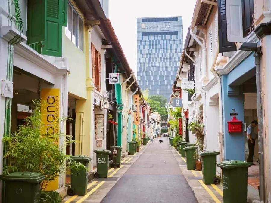 Singapore Photography Locations - Haji Lane by The Wandering Lens photographer Lisa Michele Burns