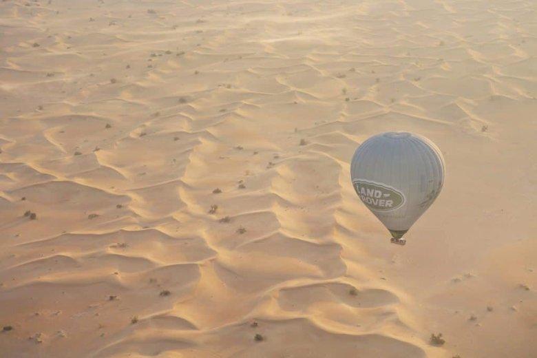 Dubai Hot Air Ballooning - Aerial Photography