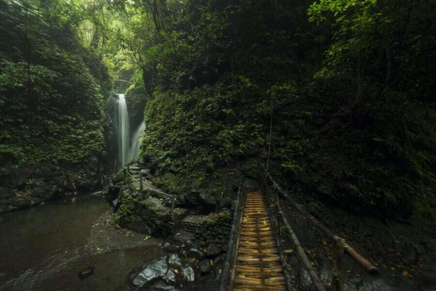 Git Git Twin Waterfall, Bali, Indonesia