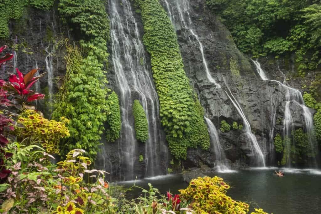 Bali Waterfalls to Visit and Photograph Banyumala Twin Waterfalls, Bali, Indonesia