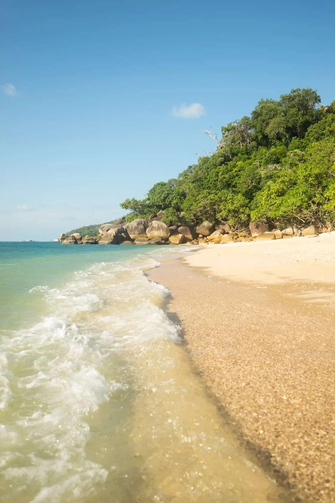 Nudey Beach, Fitzroy Island near Cairns, Queensland, Australia
