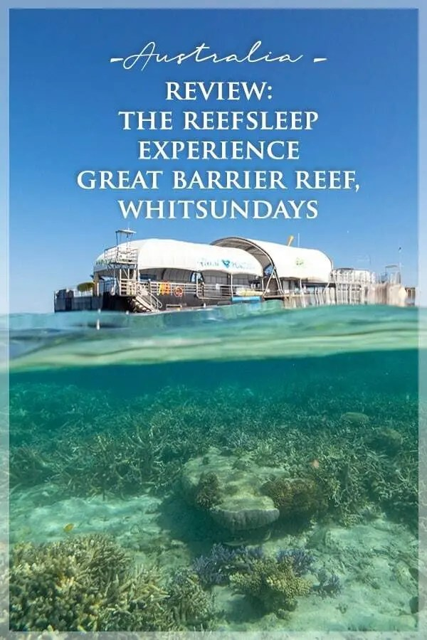 Reefsleep, Great Barrier Reef with Cruise Whitsundays, Airlie Beach
