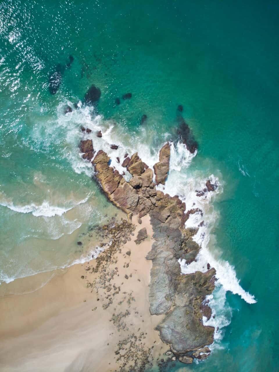 Miners Beach in Port Macquarie, New South Wales, Australia