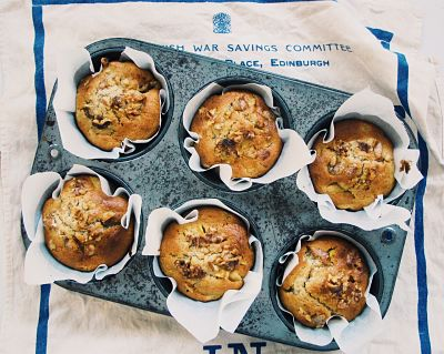Deliciously Moist Apple & Pineapple Muffins
