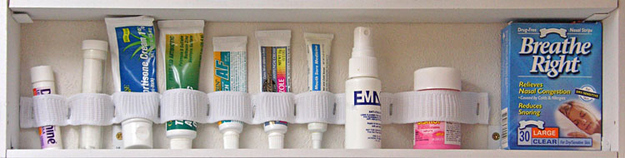 Organize your RV with a custom elastic first aid holder!