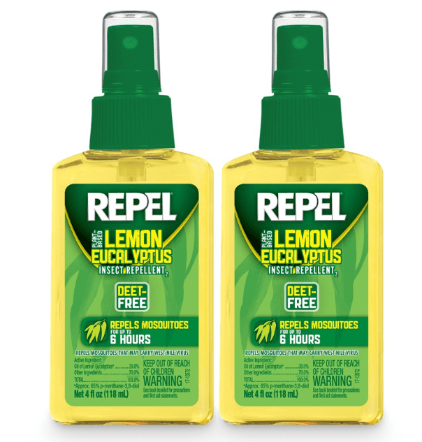 Deet-free bug spray