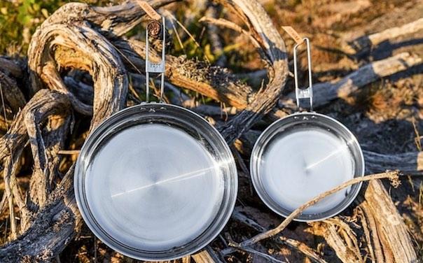 Campfire frying pan