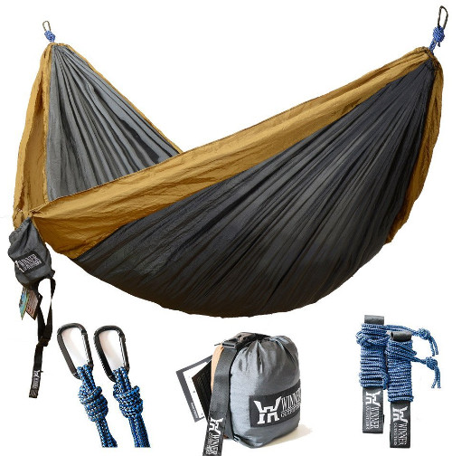 Hammock for camping and RVing