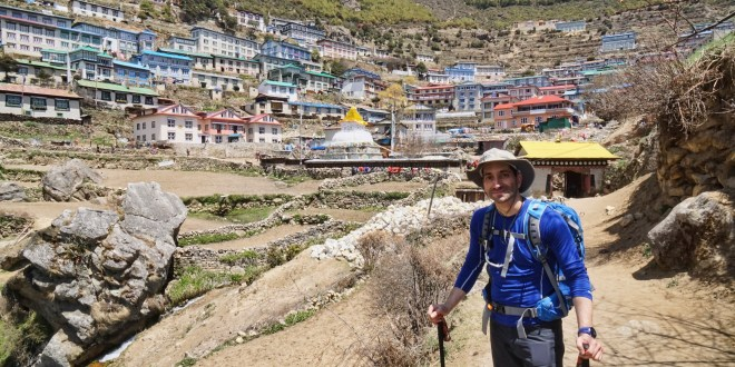 Everest Base Camp Trek:  Day 2 – Monjo to Namche Bazaar