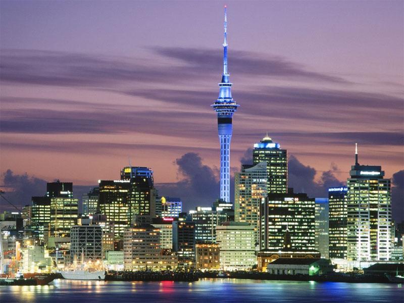 Auckland-City-Night