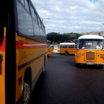 Buses in Valletta, Malta