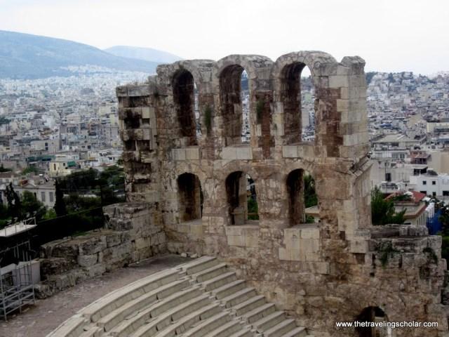 Athens Ruins, Theatre