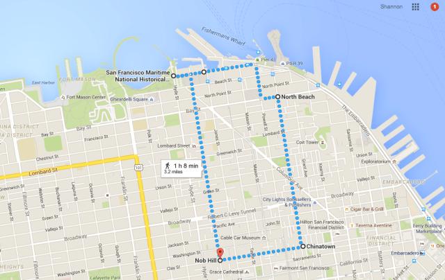 Walking Tour of San Francisco