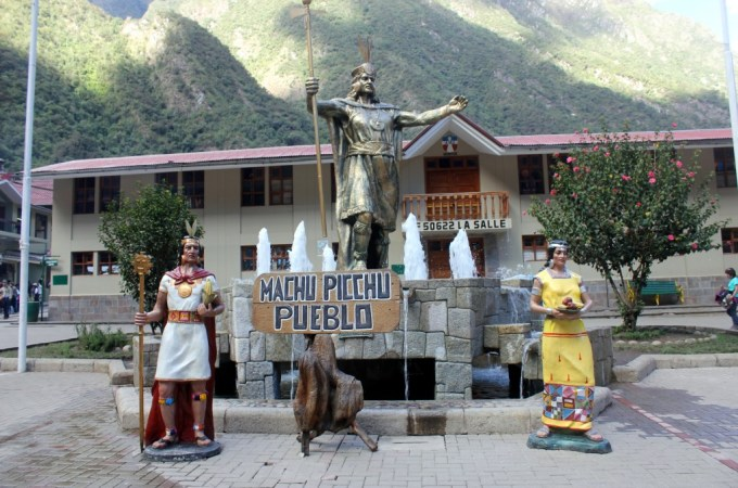 Aquas Calientes, Machu Picchu, Peru
