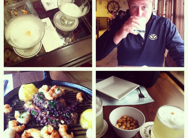 Dining in Lima, Peru