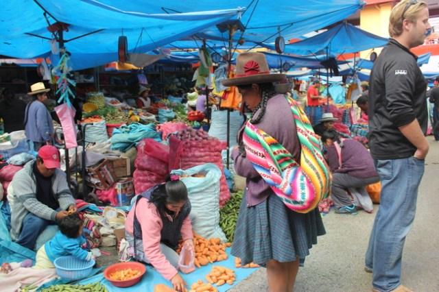 Urubamba Market, Sacred Valley of the Incas, Peru