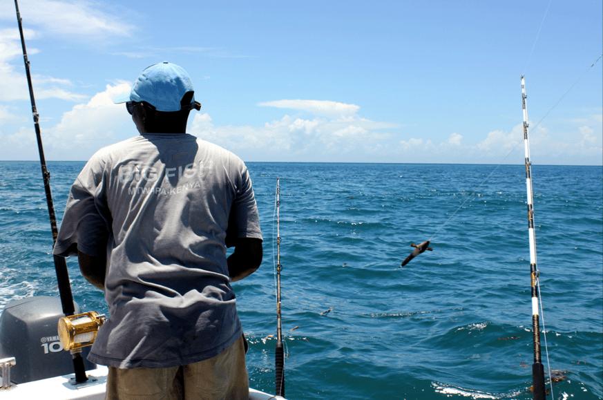 Deep Sea Fishing in Mtwapa, Kenya