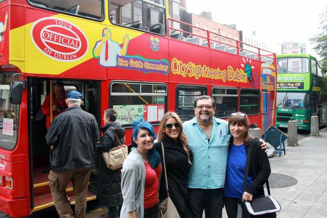 Dublin Hop On Hop Off Bus
