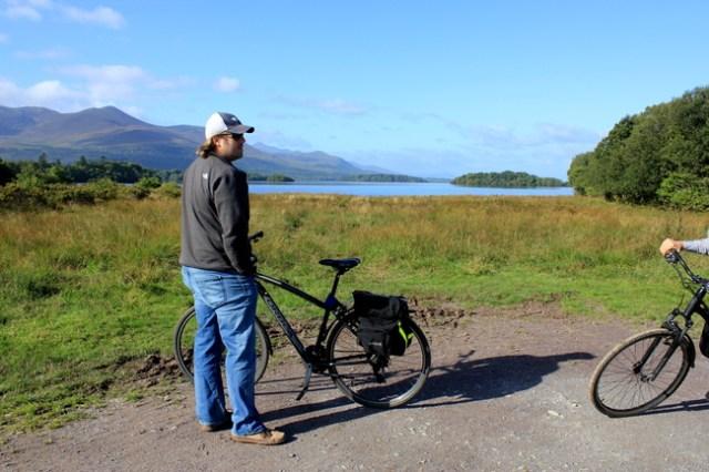 Biking Killarney National Park, Ireland