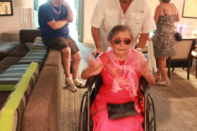 90th Birthday in Vegas